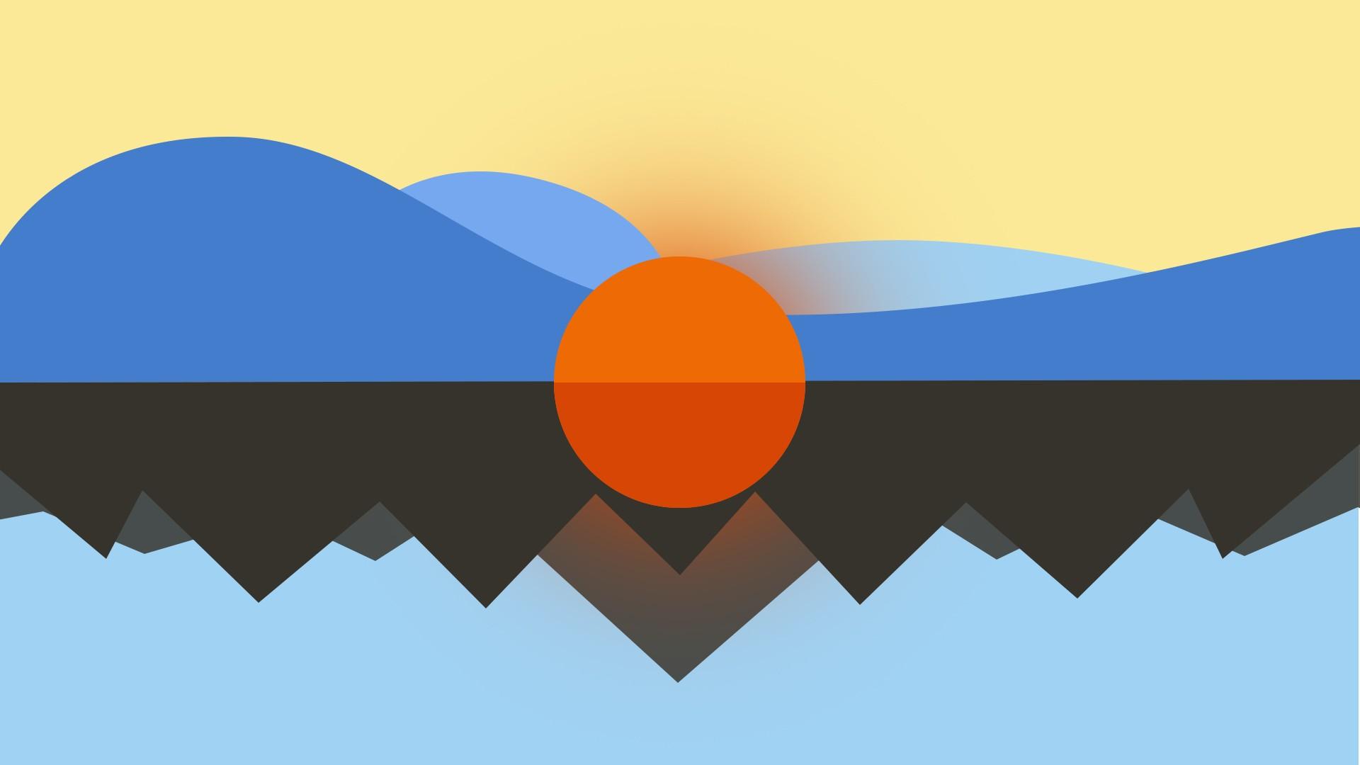 Cgi imagination sun minimalism nature digital art wallpaper download wallpaper altavistaventures Gallery
