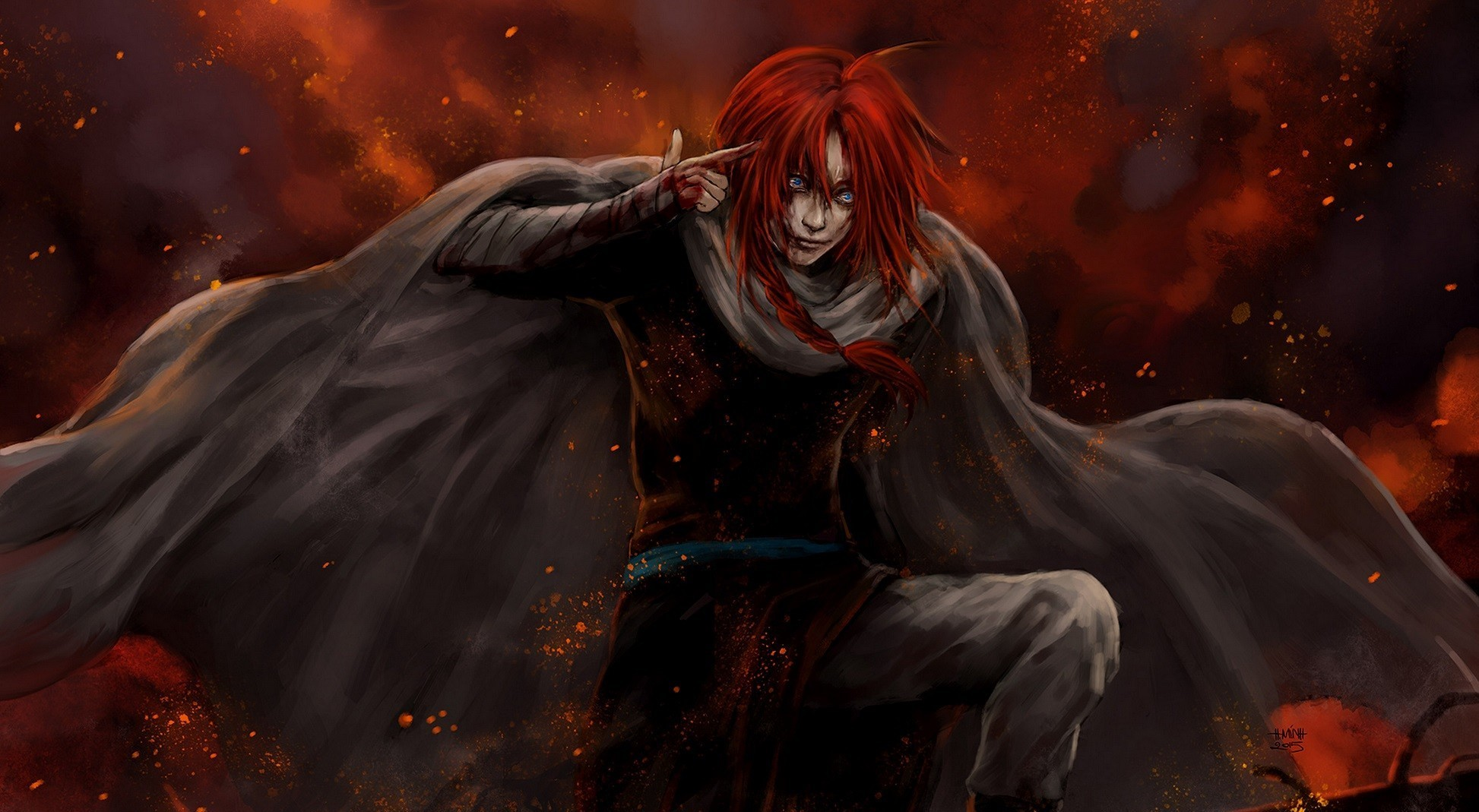 Kamui Fantasy Art Gintama Artwork