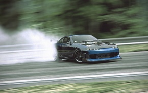 cars, smoke, drift, tuning