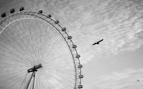 Ferris wheel, cities, London