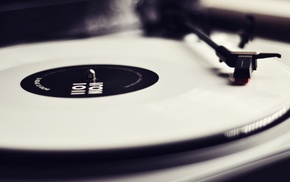 turntables, music
