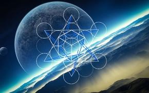 космический арт, планета, космос, фантастическое исскуство
