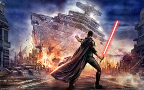 Star Wars, Star Wars The Force Unleashed, lightsaber