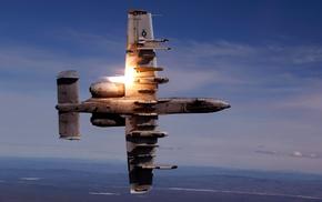 sky, aircraft, gun, airplane, speed