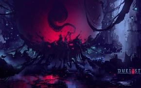 Digital 2D, creature, digital art, concept art, fantasy art, environment