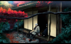 Sakata Gintoki, anime boys, anime, Gintama