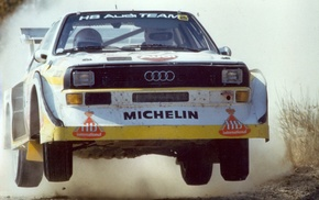 Audi, Audi Sport Quattro S1, rally cars, old car, car, sports car