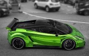 Lamborghini Gallardo, Lamborghini, supercars, car, green cars
