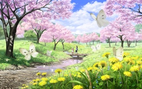 anime, butterfly
