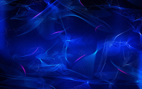 waves, neon, lines, 3D, background