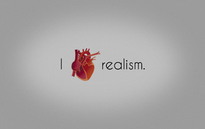 minimalism, heart