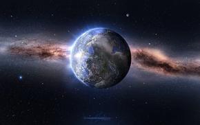 космос, Millions of years, земля, планета, звезды