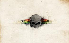 texture, skull, minimalism