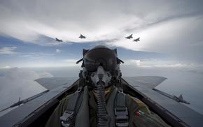 пилот, Самолет, авиация, небо