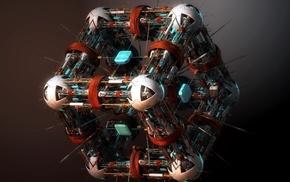куб, 3d, Nano surgeon