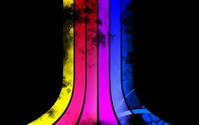 lines, colors, 3D
