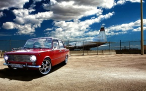 cars, airplane