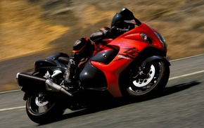 speed, road, cars, motorcycle