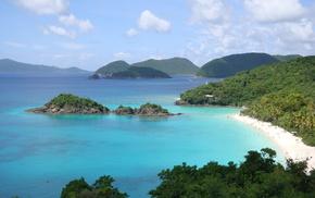 coast, nature, sea, beach