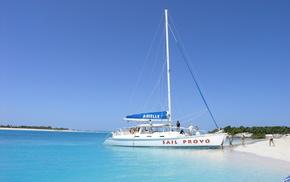 water, sand, ocean, yacht, beach