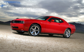 red, automobile, cars, Dodge