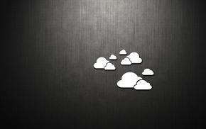 minimalism, style, clouds