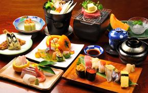 delicious, Japan, kitchen, fish, food