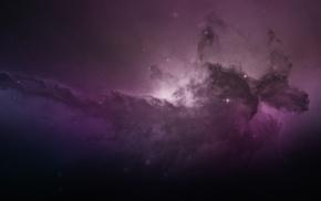stars, light, galaxy, space