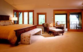 interior, design, bed, style, room