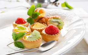 food, delicious, sweet, leaves, fruits