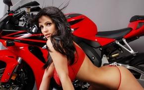 moto, girls