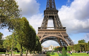 архитектура, марсово поле, france, париж, города, франция