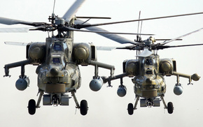 couple, helicopter, aircraft
