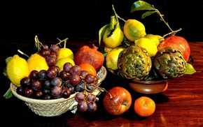 fruits, food, delicious