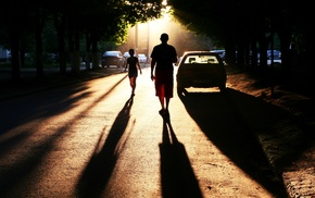 street, cars, city, cities, people