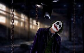 MessenjahMatt, Joker, The Dark Knight, Batman, chains