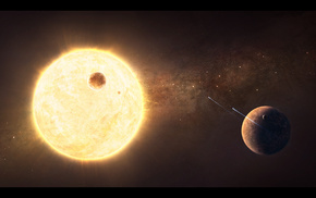 planets, space, satellite