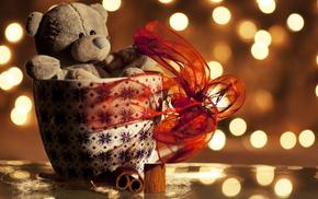 holiday, love, ribbon