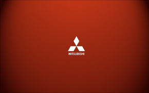 Mitsubishi, minimalism, logo