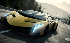 Need for Speed Rivals, Lamborghini, Lamborghini Veneno, video games