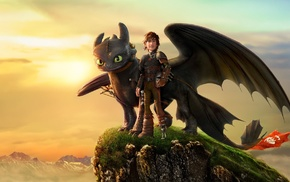 How to Train Your Dragon, dragon, Toothless, How to Train Your Dragon 2