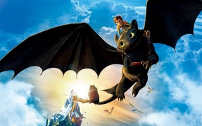 Toothless, How to Train Your Dragon, How to Train Your Dragon 2, dragon