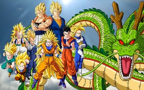 Ultimate Gohan, Vegeta, Dragon Ball, Trunks character, Super Saiyan 3, Vegito