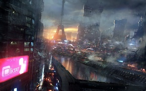 Remember Me, futuristic, concept art