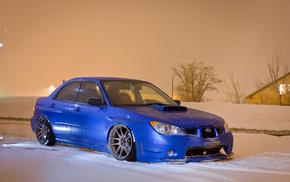 car, winter, snow, cars, Subaru