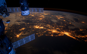 союз, космос, океан, прогресс, атлантика, Мкс