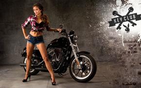 motorcycle, girls, girl, moto