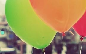 macro, balloon, balloons