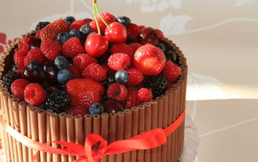 fruits, chocolate, delicious