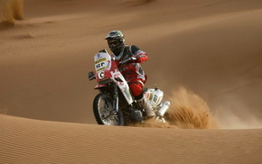 sand, sports, racing, motorcycle